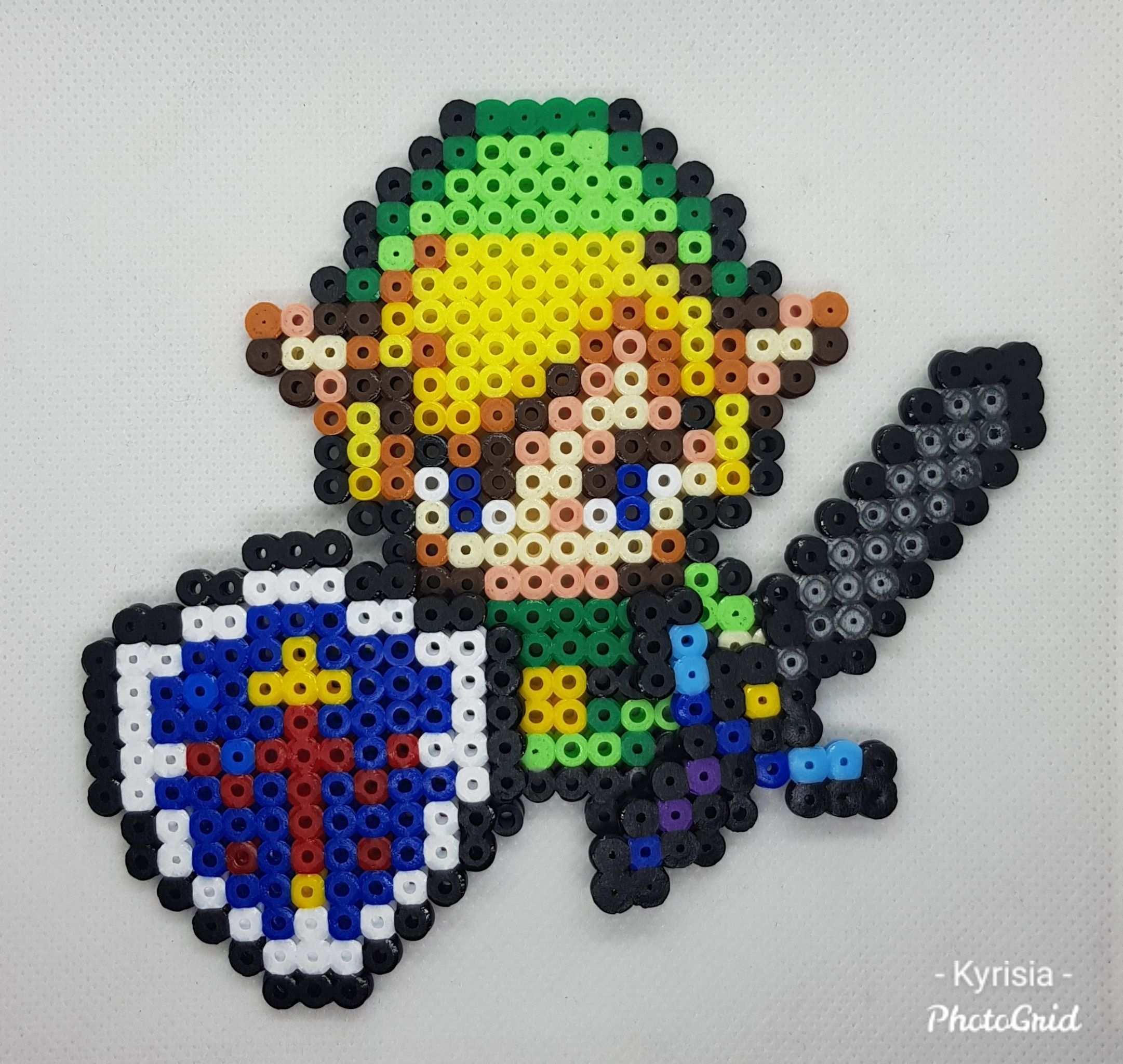 Link Zelda Bugelperlen Basteln Bugelperlen Basteln