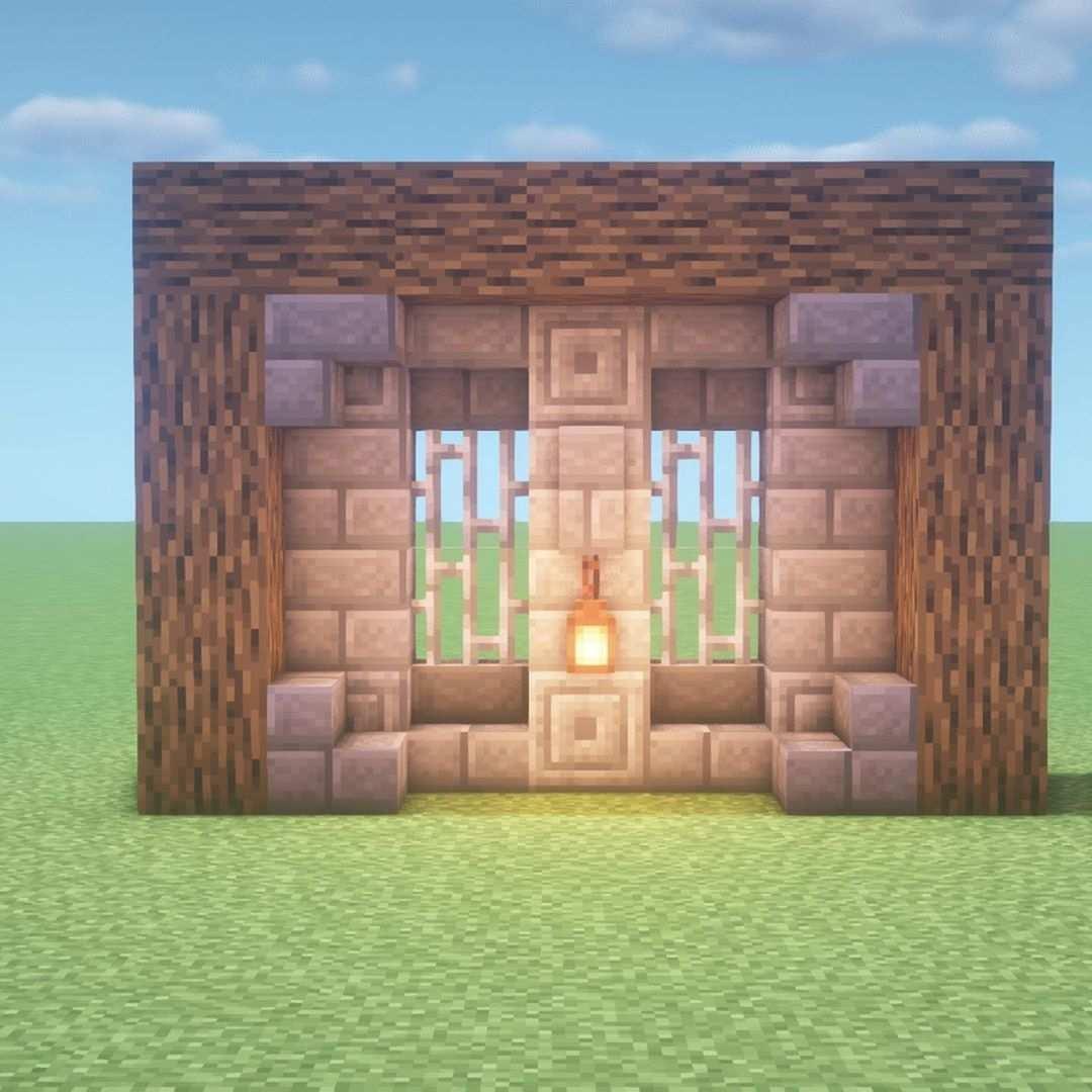 Minecraft Wall Design Minecraft Wall Designs Minecraft Wall Minecraft Castle