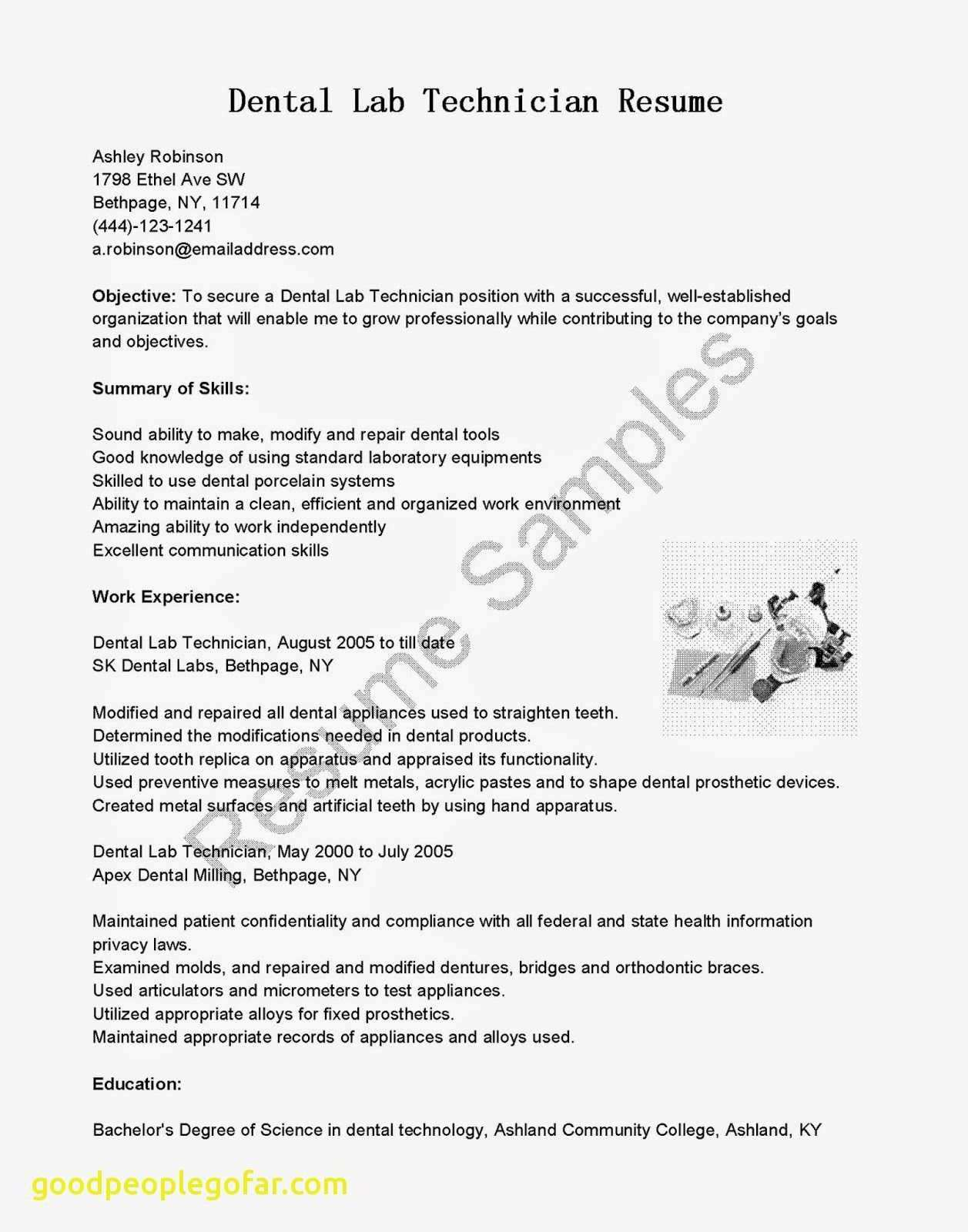 23 Best Of Acrylic Nails Shapes Lab Technician Resume New Vet Tech Resume Lovely Technicians Resume Resume Examples Good Resume Examples Best Resume Template