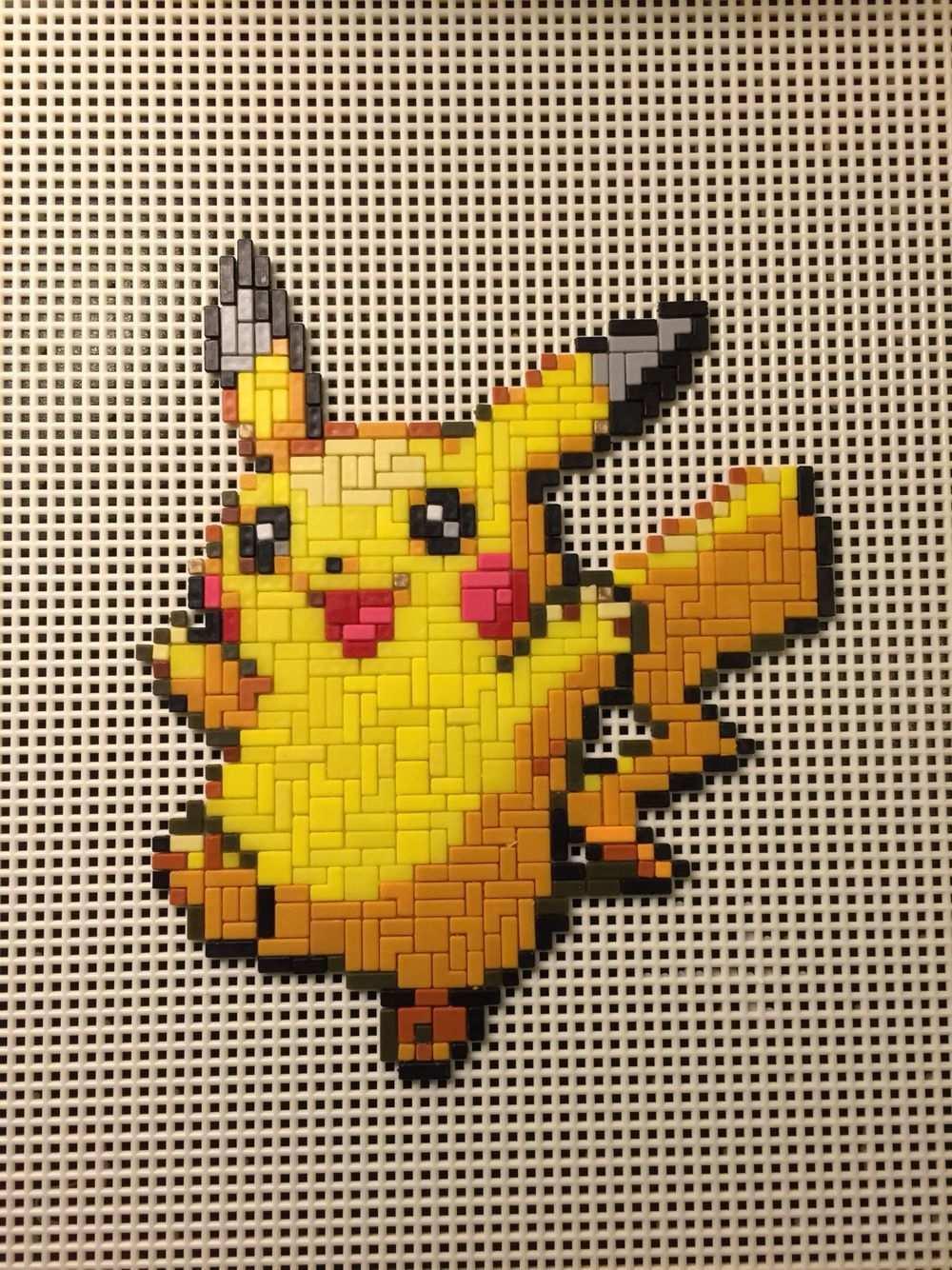 Ministeck Mario Google Zoeken In 2020 Pokemon Afbeeldingen Pikachu Leuke Knutselwerken