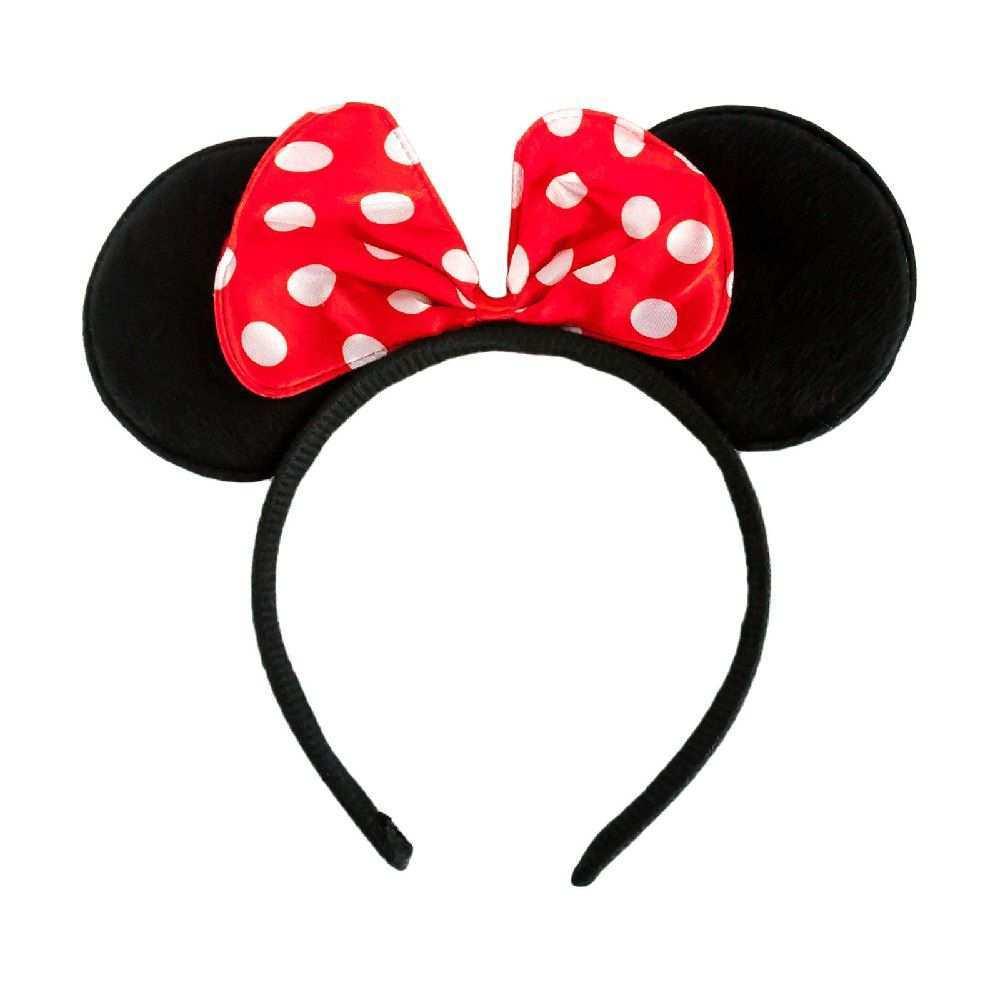 Haarreif Haarreifen Maus Mouse Ohren Schleife Fasching Karneval Rot Fasching Basteln Mit Kindern Karneval Kleidung Fasching