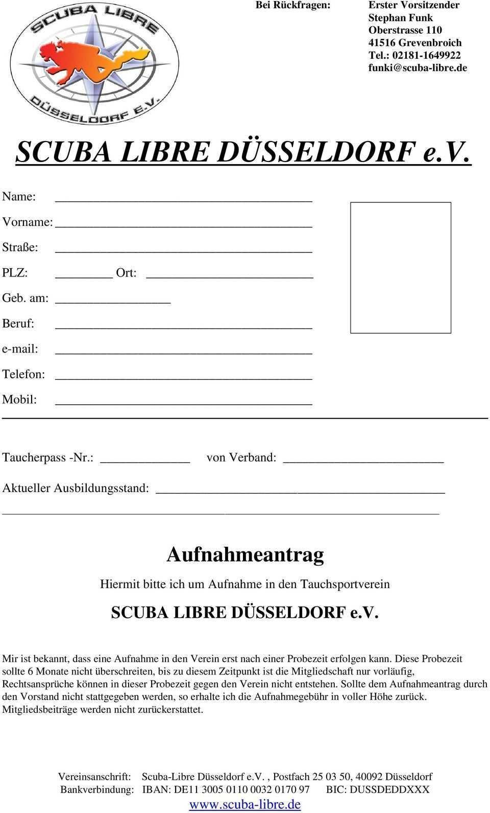 Scuba Libre Dusseldorf E V Pdf Kostenfreier Download