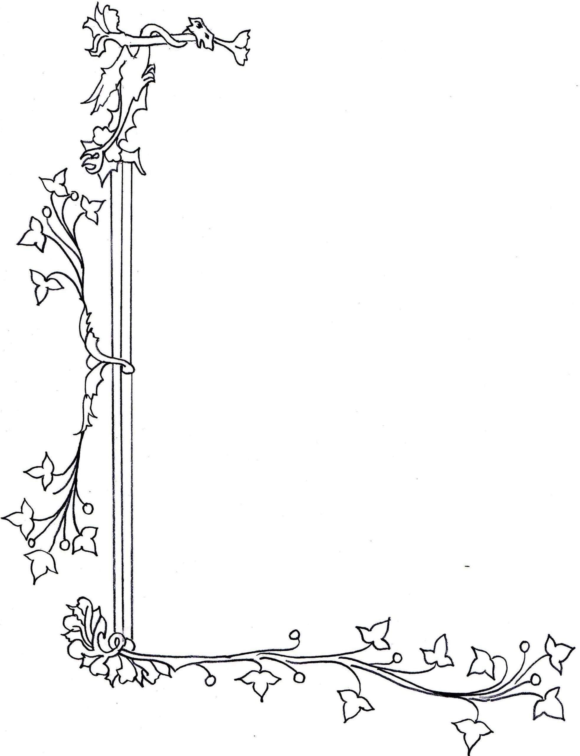 Medieval Manuscript Art Vines Flowers Google Search Art Medieval Art Medieval Manuscript