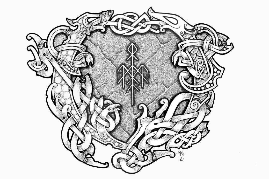 Wardruna Wikinger Tattoos Wikinger Tattoo Keltische Kunst