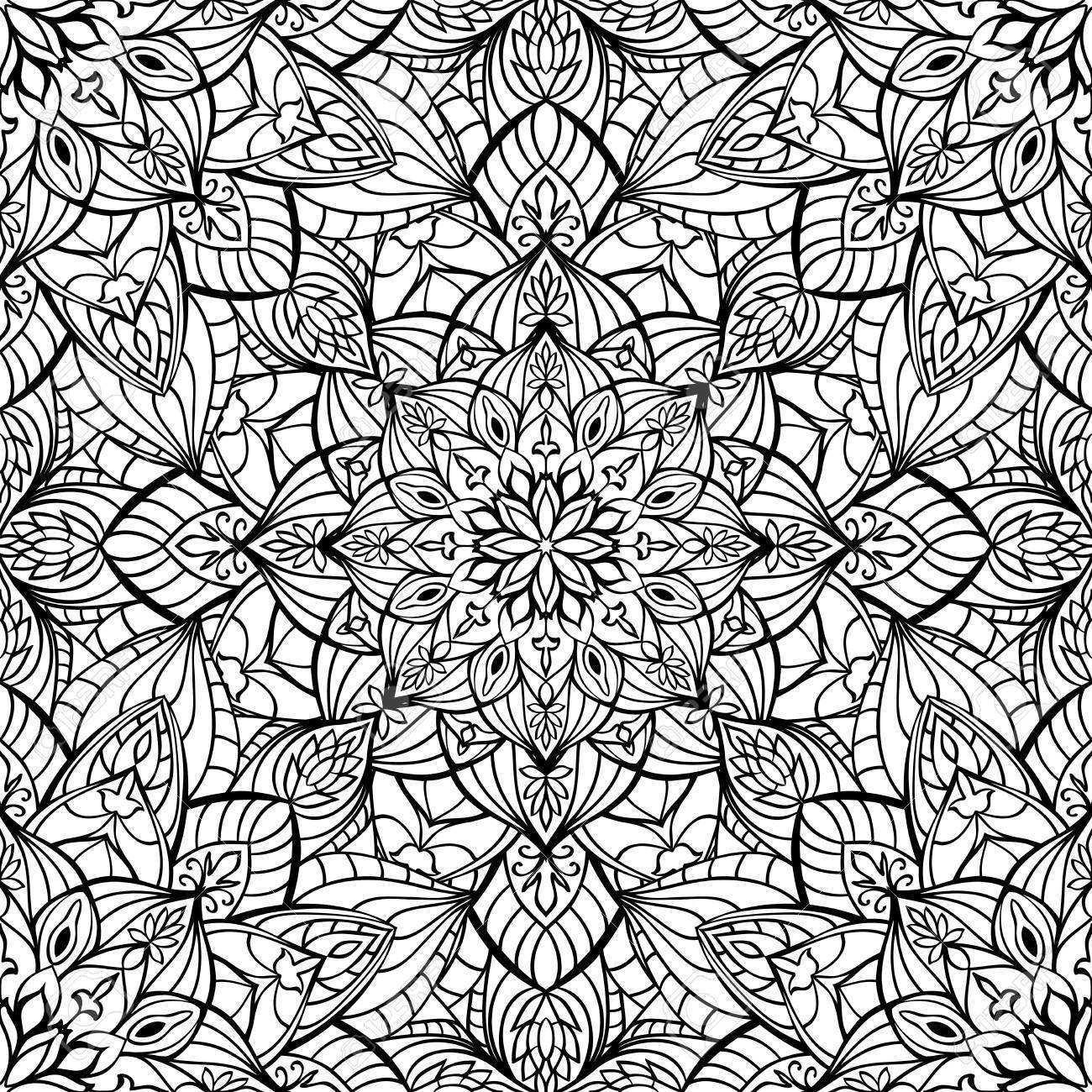 Nahtlose Orientalischen Mittelalterliche Ornament Vektor Muster Von Anmutigen Elementen Vorlage Fur Die Oberflache Lizenzfrei Nutzbare Vektorgrafiken Clip Arts Illustrationen Image 44661979