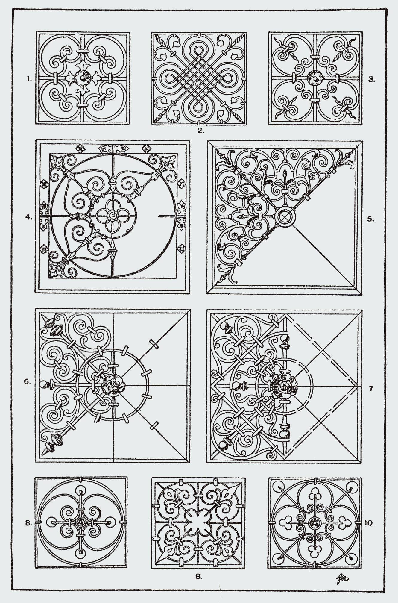 Orna155 Quadrat Png 1330 2014 Ornamente Vorlagen Islamische Muster Fliesen Sticker