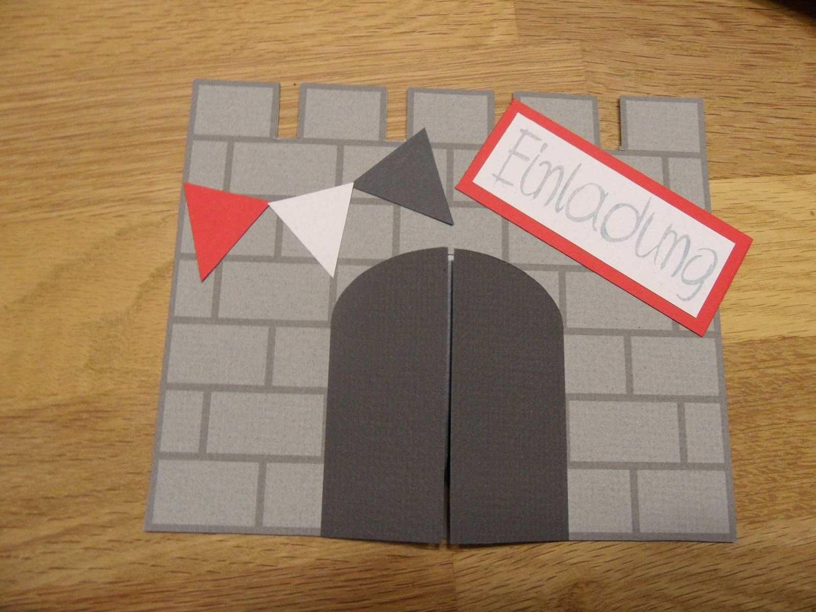Einladungskarten Kindergeburtstag Einladungskarten Kindergeburtstag Kindergeburtstag Ritter Einladungskarten Basteln