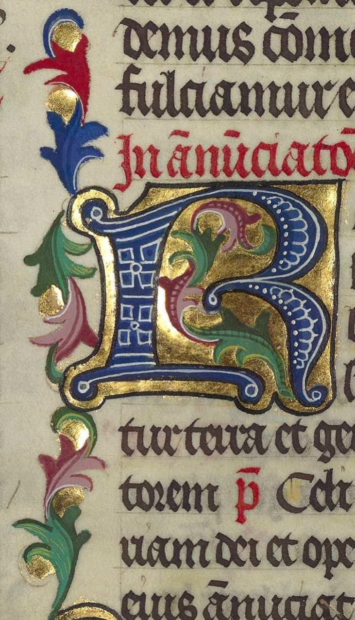Medieval Illuminated Manuscript In 2020 Graphik Kalligrafie Initialen