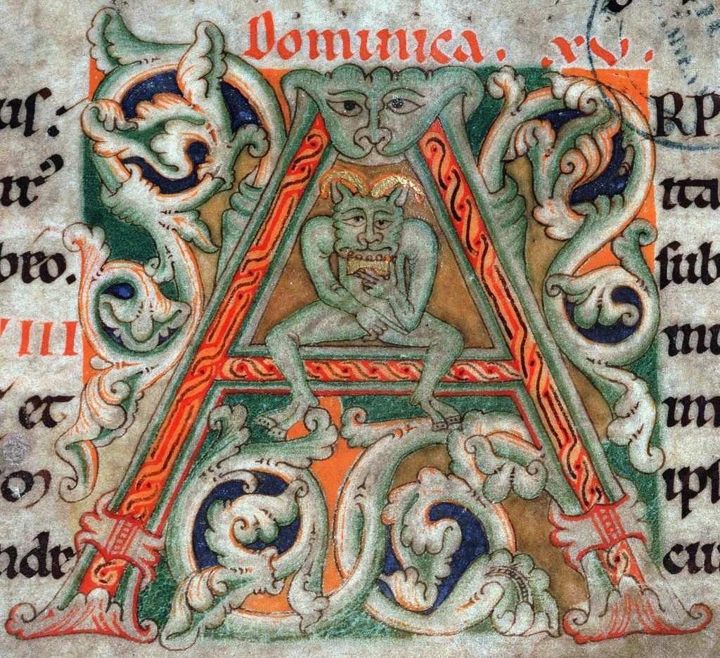 Discarding Images On Twitter Initialen Miniaturen Mittelalter