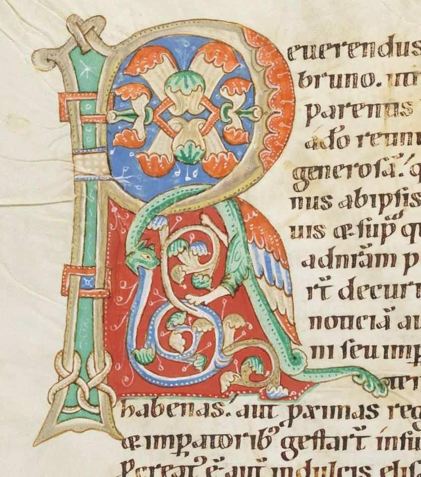 Cologny Fondation Martin Bodmer Cod Bodmer 127 Passionary Of Weissenau 12th Century Http Www E Codices Unifr Ch En List One Malerei Kalligraphie Burg