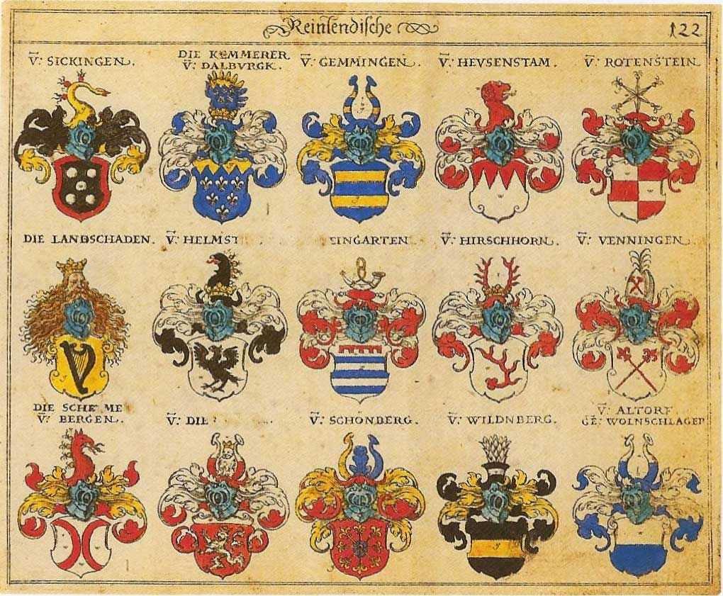 Heraldik Wappen Wappen Banner 16 Jahrhundert