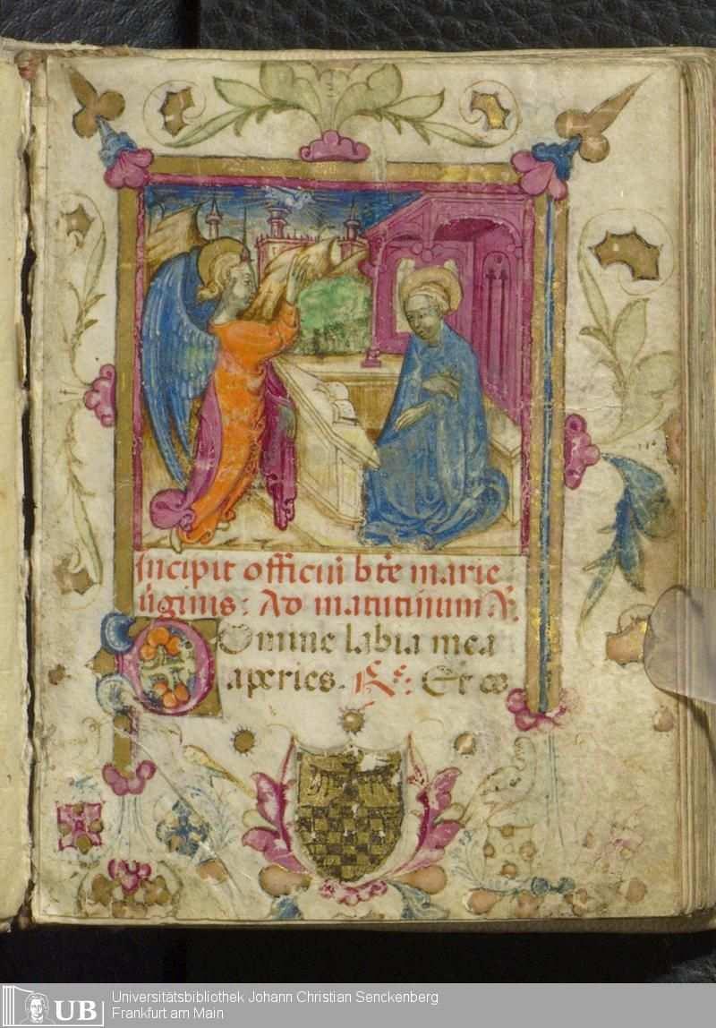 Title Ms Lat Oct 118 Stundenbuch Nach Dem Gebrauch Von Rom Published Oberitalien 15 Jh 3 Viertel Description I Oberitalien Handschrift Bucher