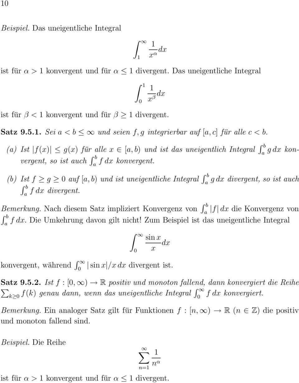 9 Das Riemannsche Integral Pdf Free Download