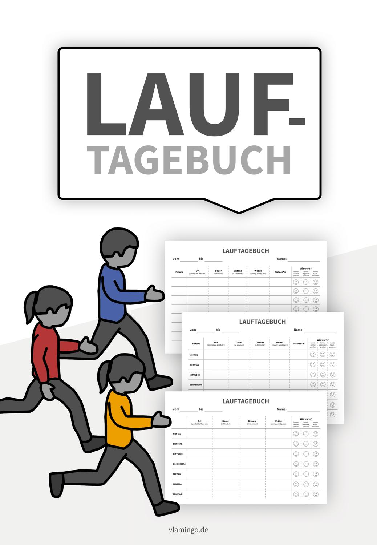 Lauftagebuch Vorlagen Fur Schuler Innen Lauftagebuch Unterrichtsmaterial Schuler