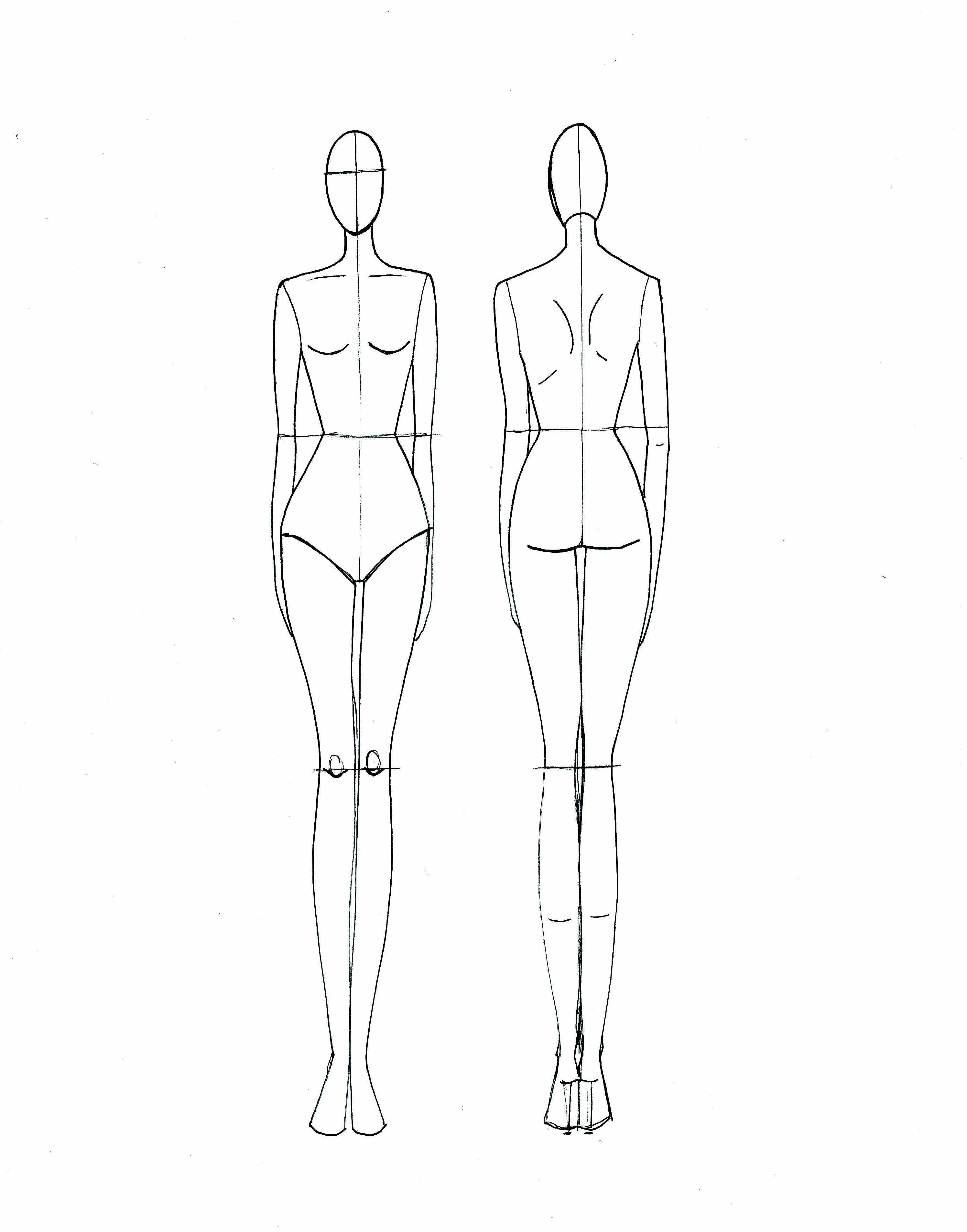Fashion Drawing Template Fashion Sketch Template Fashion Illustration Template Fashion Design Template