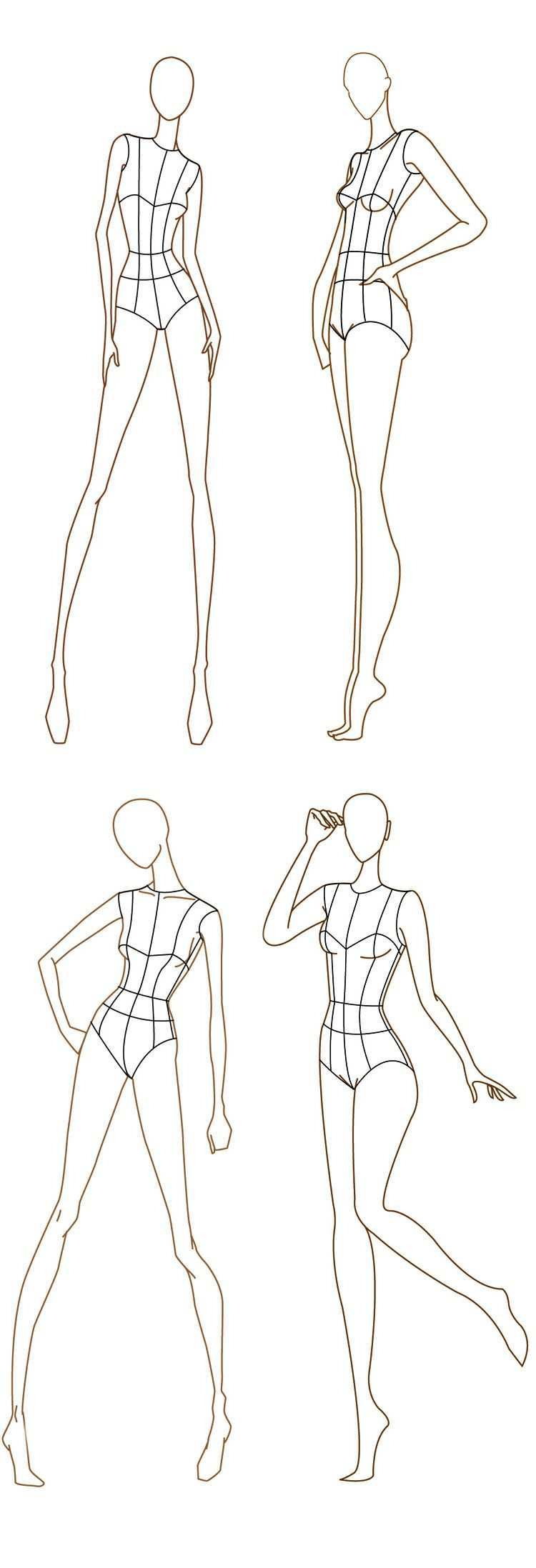Free Fashion Croquis 120 Fashion Figure Templates Fashion Design Drawings Fashion Figure Templates Fashion Design Sketches