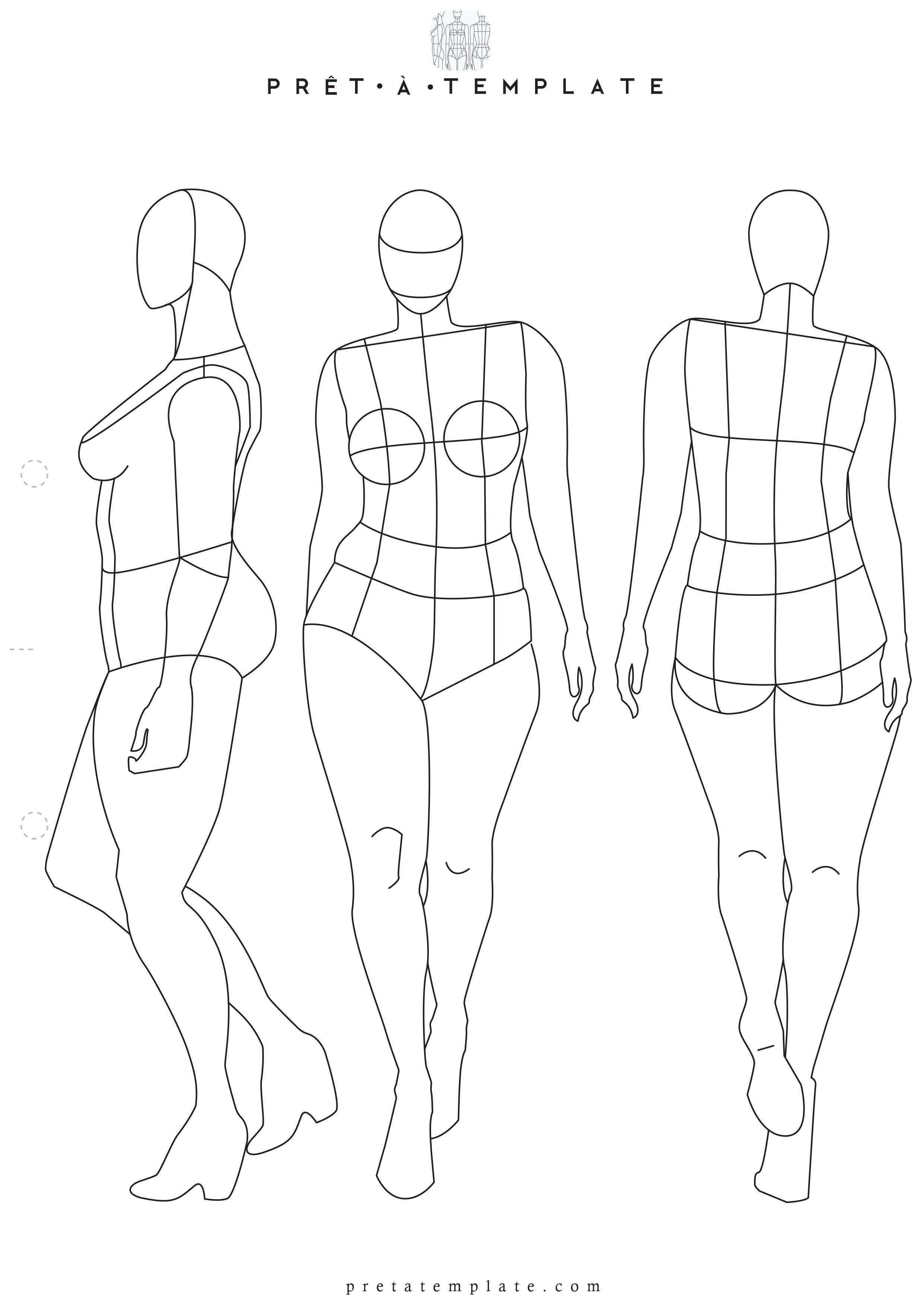 Pin On Printable Templates Fashion Figure Templates Fashion Design App