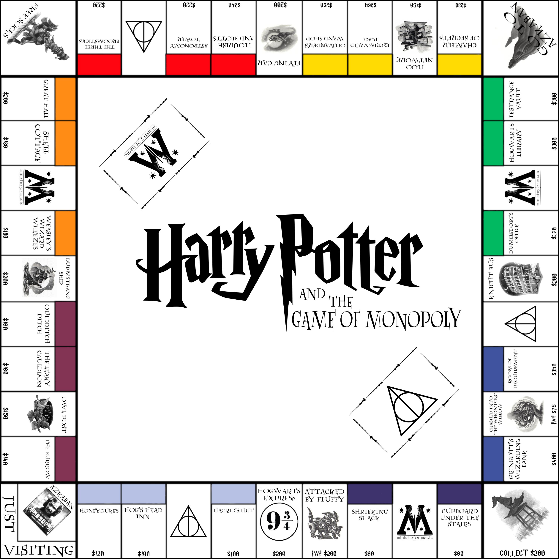 Harry Potter Monopoly By Funkblast Harry Potter Geschenke Harry Potter Spiele Harry Potter Selber Machen