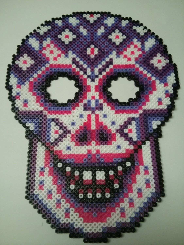 Il Fullxfull 649038608 Myzg Jpg Jpeg Grafik 1125 1500 Pixel Skaliert 42 Skull Crafts Fuse Beads Perler Bead Patterns