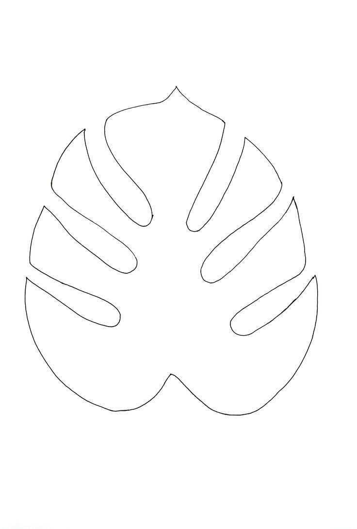 Cab10e63dcfd6ea171612dad6c9e0ca9 Tropical Leaf Stencil Tropical Leaf Painting Jpg 736 1092 Cab10e63dcfd6ea171612da Blatt Schablone Monstera Schablonen