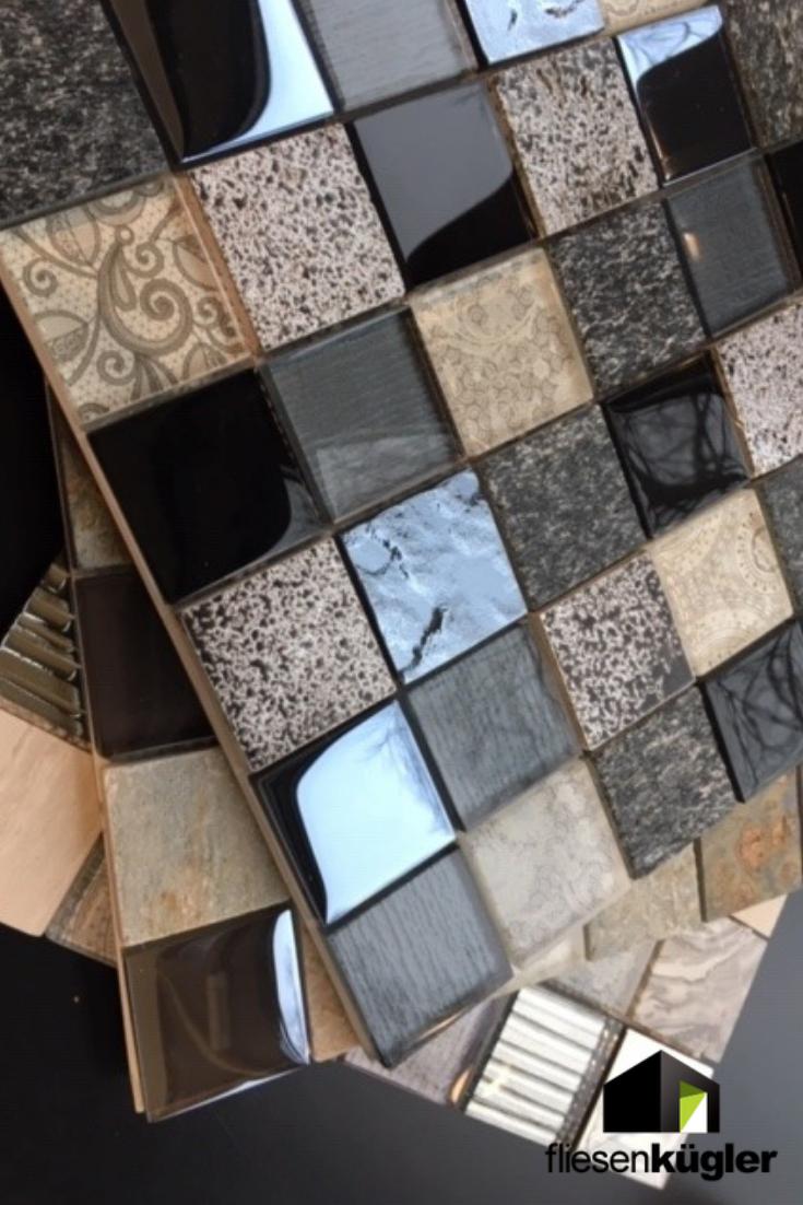 Ob Schlicht Mit Muster Oder Glanzend Mosaikfliesen Sind Vielfaltiger Als Ihr Vielleicht Denkt Lasst Euch Von Der Grossen Auswa Mosaikfliesen Mosaik Fliesen