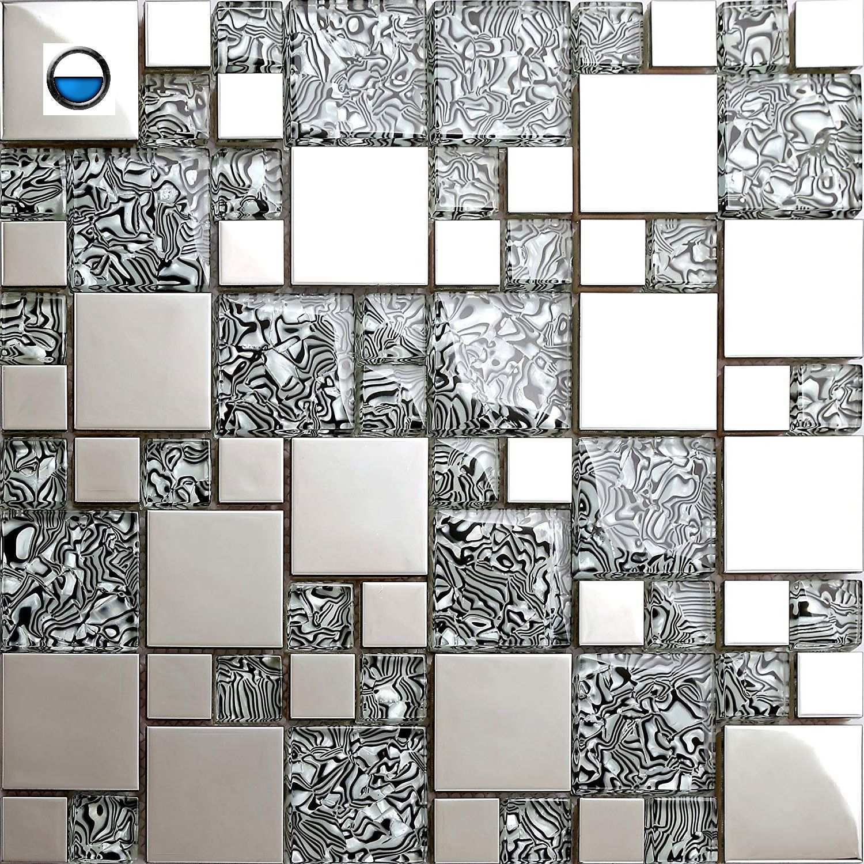 Mosaik Fliese Glas Edel Mosaikfliesen Fliesen Mosaik