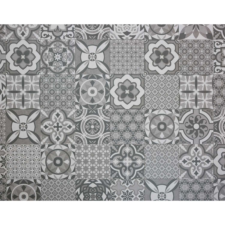 Bodenfliese Vintage Mix Grau 25x25cm Bodenfliese Fliesen Mosaik Fliesen Kuche