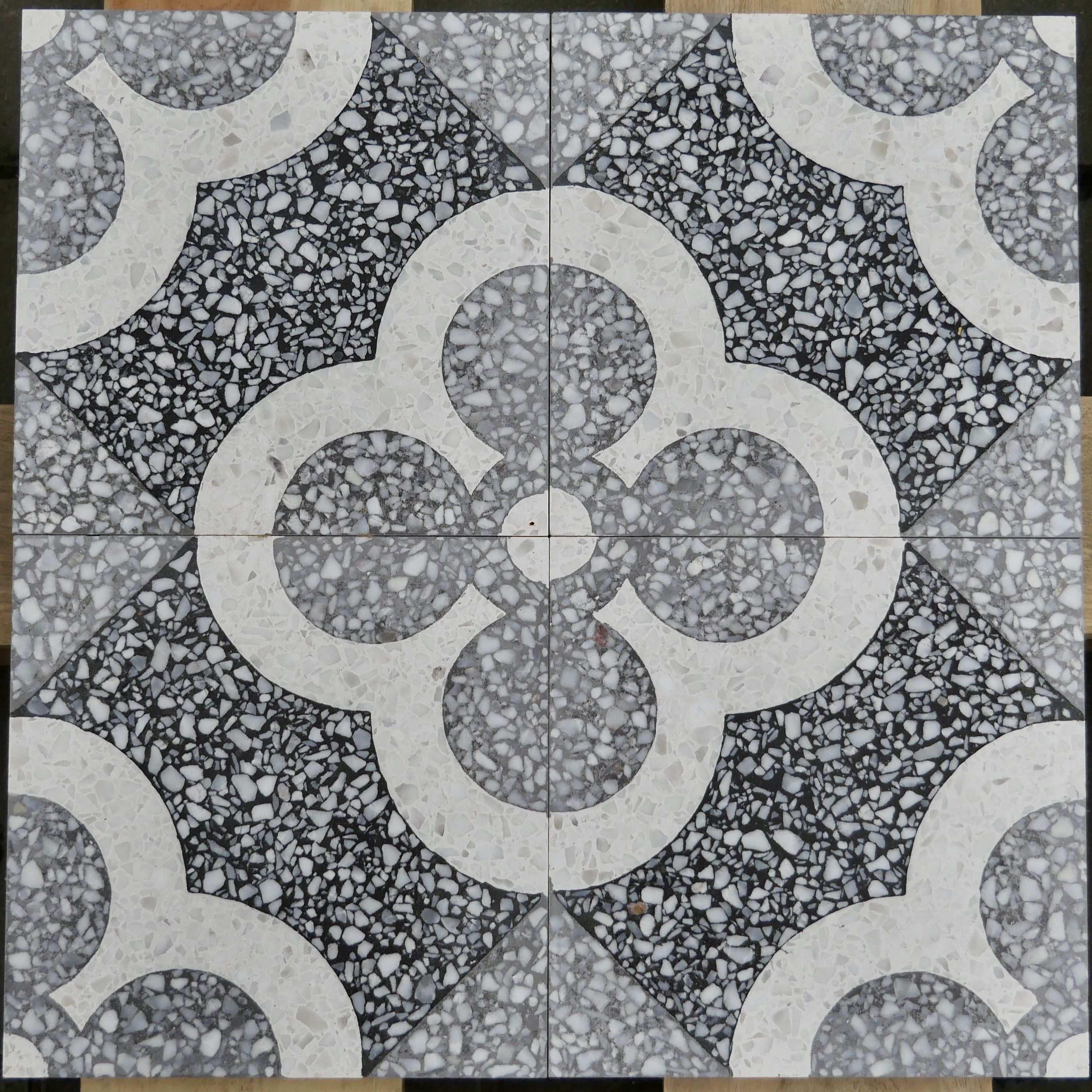 Via Terrazzoplatten Grob Mosaikfliesen Mosaik Fliesen