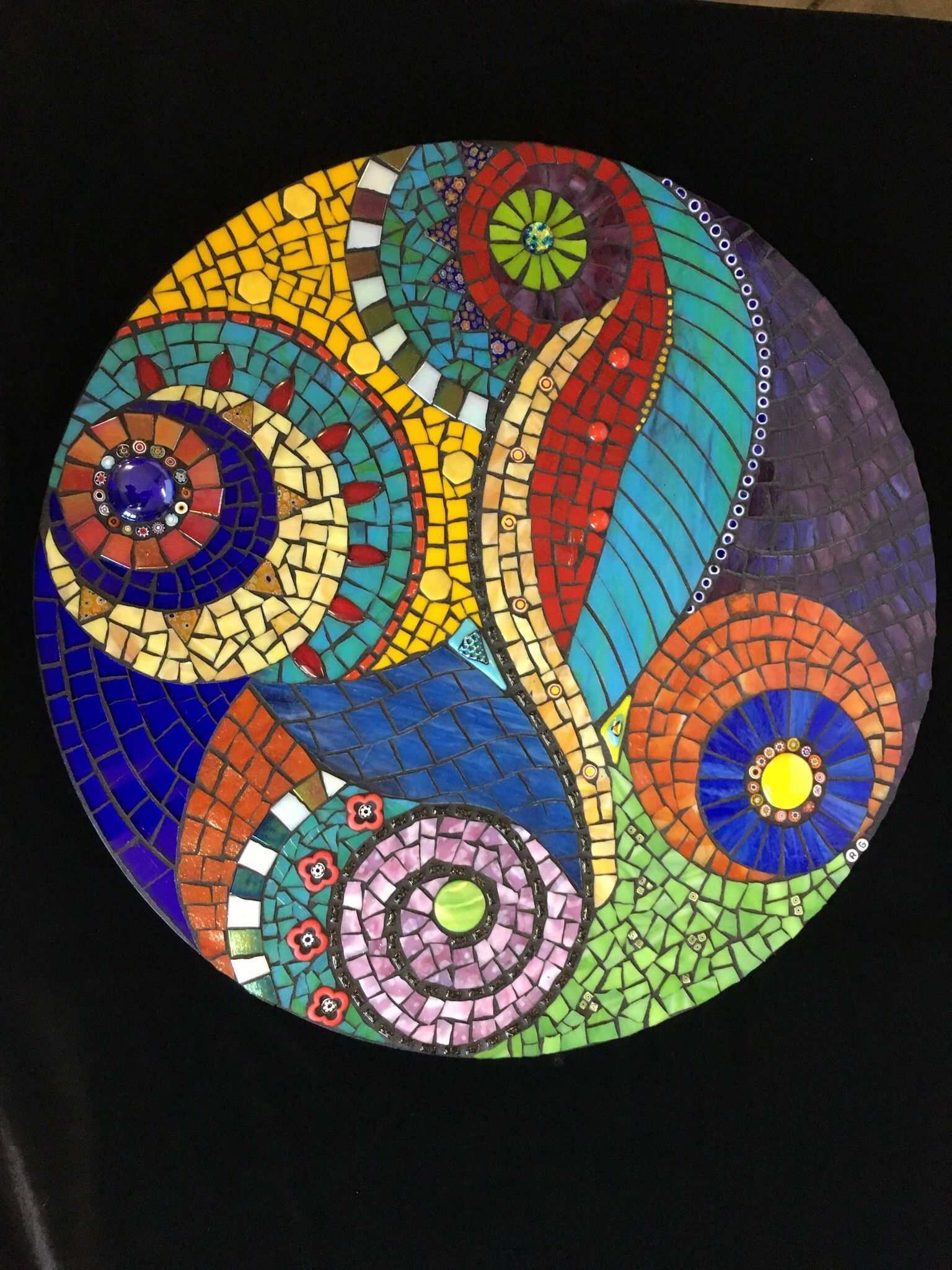 Pin On Mosaic Projects