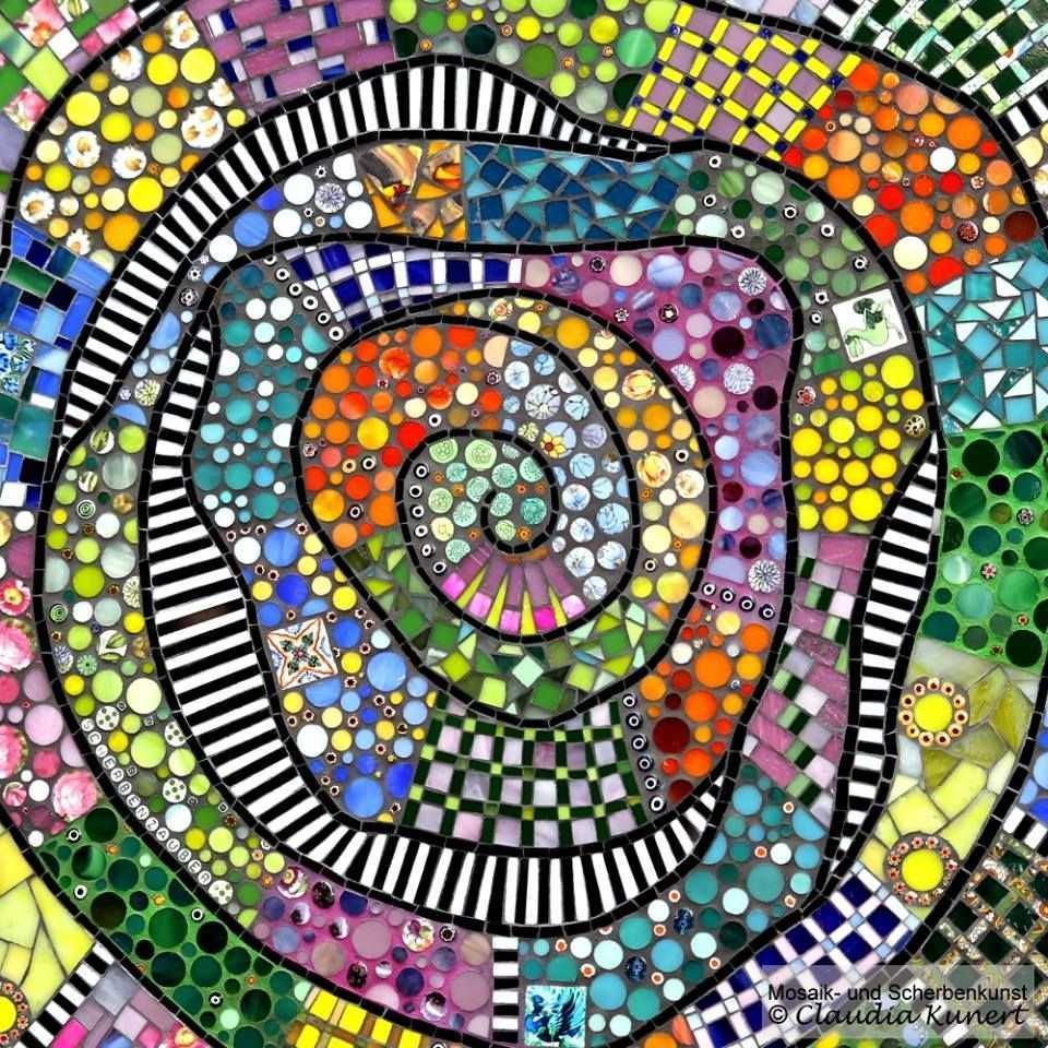 Table Top By Scherbenzauber Mosaic Cafehaus Tisch Bistrotisch Gartentisch Mehr Mosaik Mosaik Muster Mosaik Diy