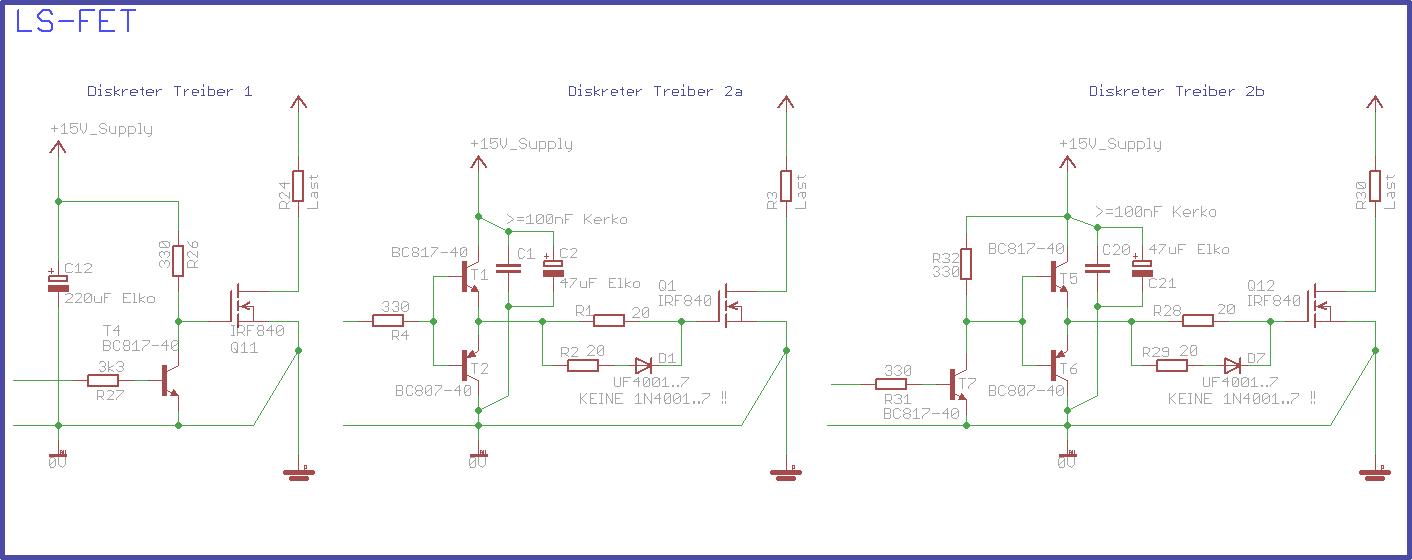 Mosfet Treiber An 5v Mikrocontroller Net