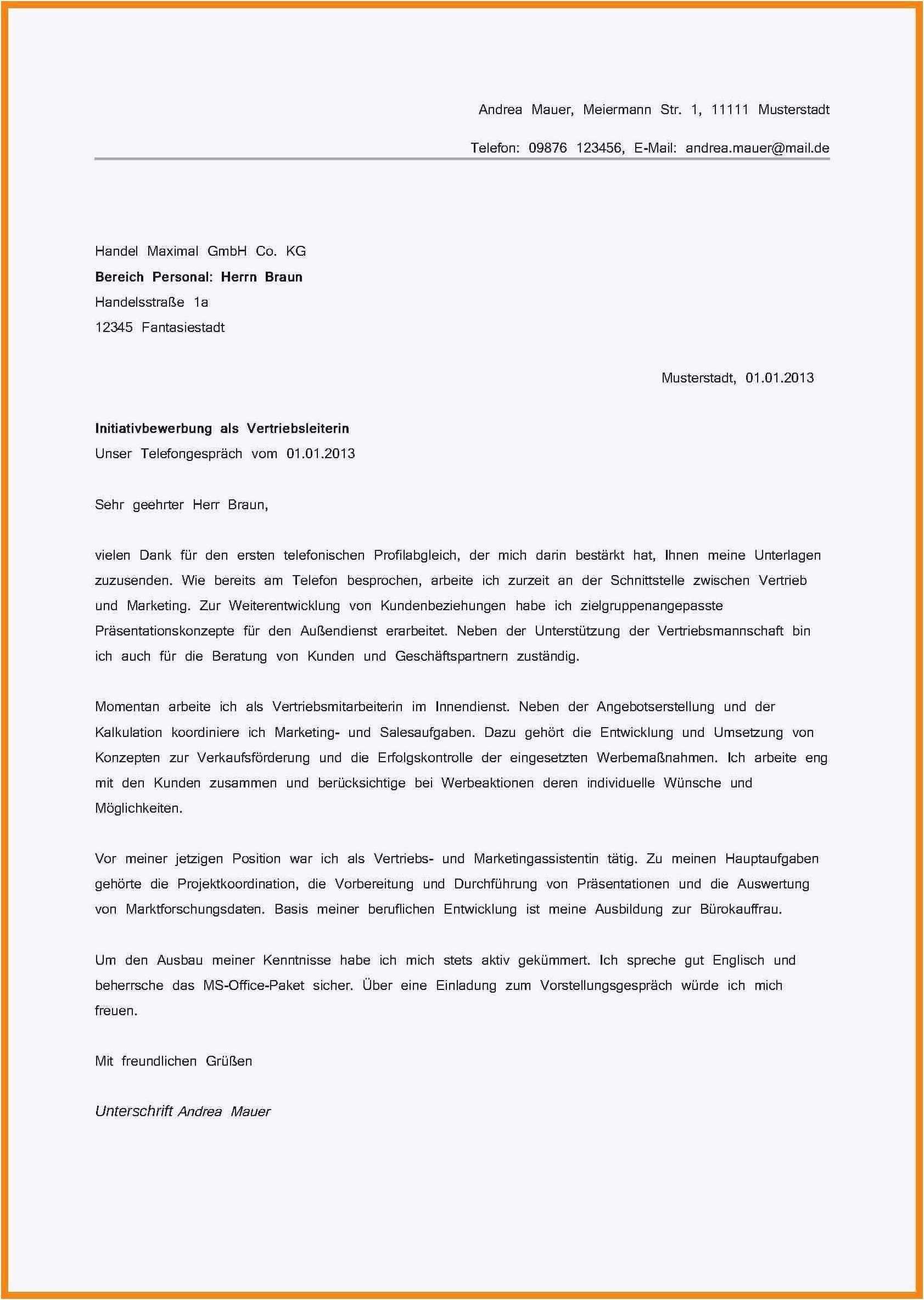 Neu Motivationsschreiben Verfassungsschutz Briefprobe Briefformat Briefvorlage