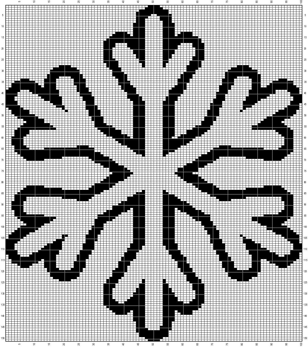 Schneekristall 100x151 Motive Sticken Vorlagen