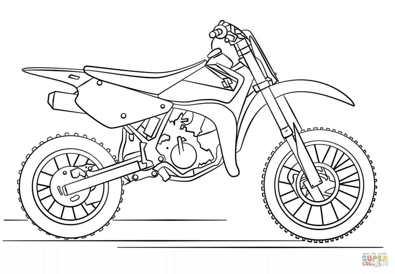 Dirt Bike Coloring Pages Fresh 29 Dirt Bike Color Pages Motorcycles Motocross Dirt Bike Bike Drawing Motorbike Drawing Coloring Pages