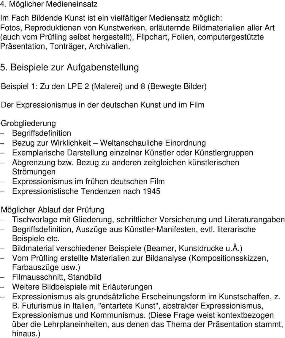 Prasentationsprufung Im Fach Bildende Kunst Pdf Kostenfreier Download