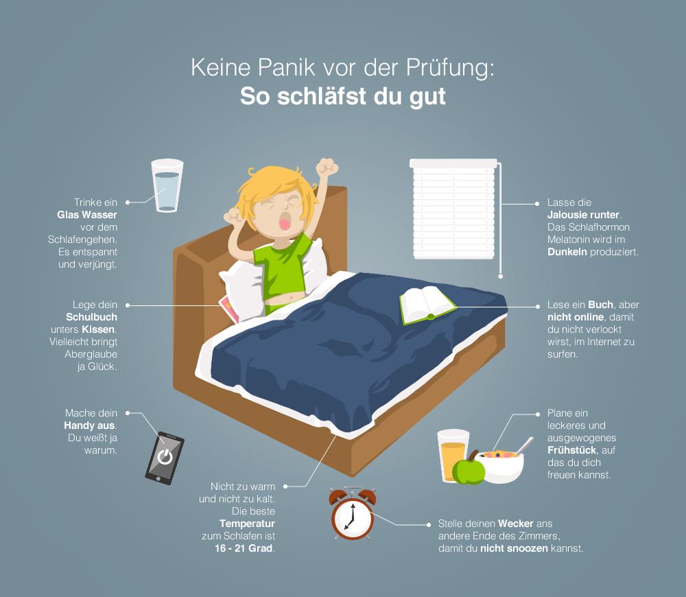 Abitur So Schlafst Du Gut Vor Der Abi Prufung Abitur Vorbereitung Lernen Tipps Schule Abitur