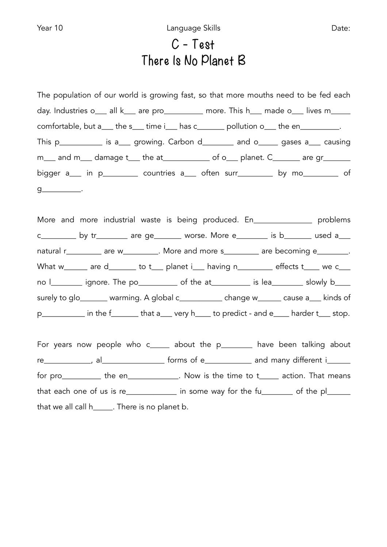 Pin Auf Englisch Sekundarstufe Unterrichtsmaterialien