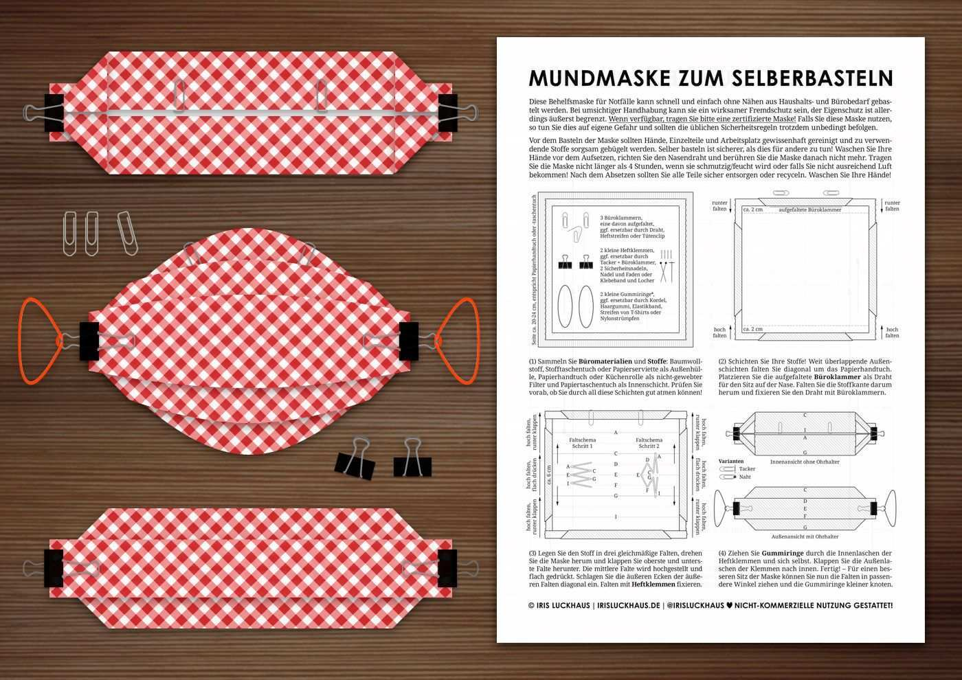 Diy Anleitung Eilige Mundmaske Zum Selberbasteln Iris Luckhaus Illustration Design Masken Masken Selber Basteln Masken Basteln