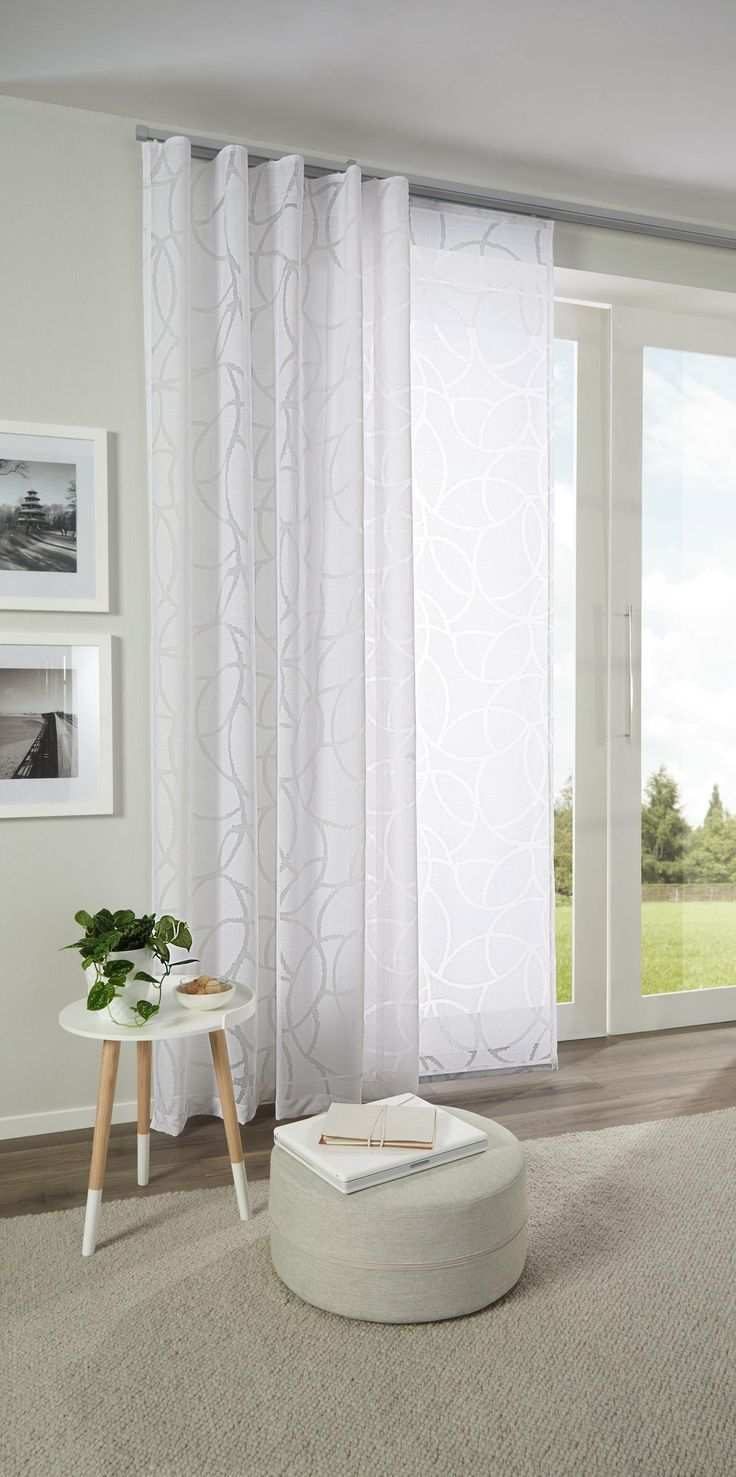 Pretty Curtain With Delicate Pattern In White By Esposa Curtains Ideas3 Tk Curtains Ideas 2018 In 2020 Bedroom Curtains With Blinds Curtains With Blinds Curtains