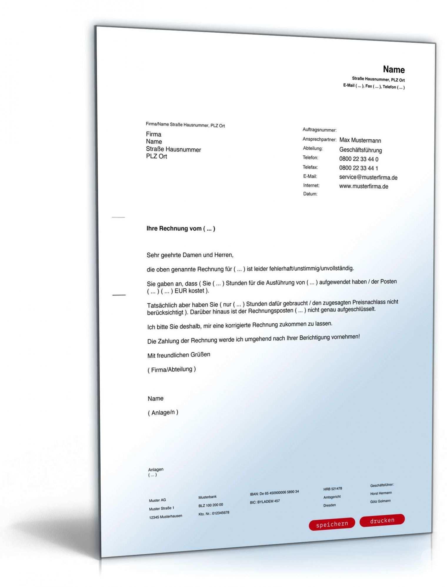 Blattern Unsere Druckbar Von Zuruckweisung Rechnung Vorlage Etikettenvorlagen Vorlagen Word Rechnung Vorlage
