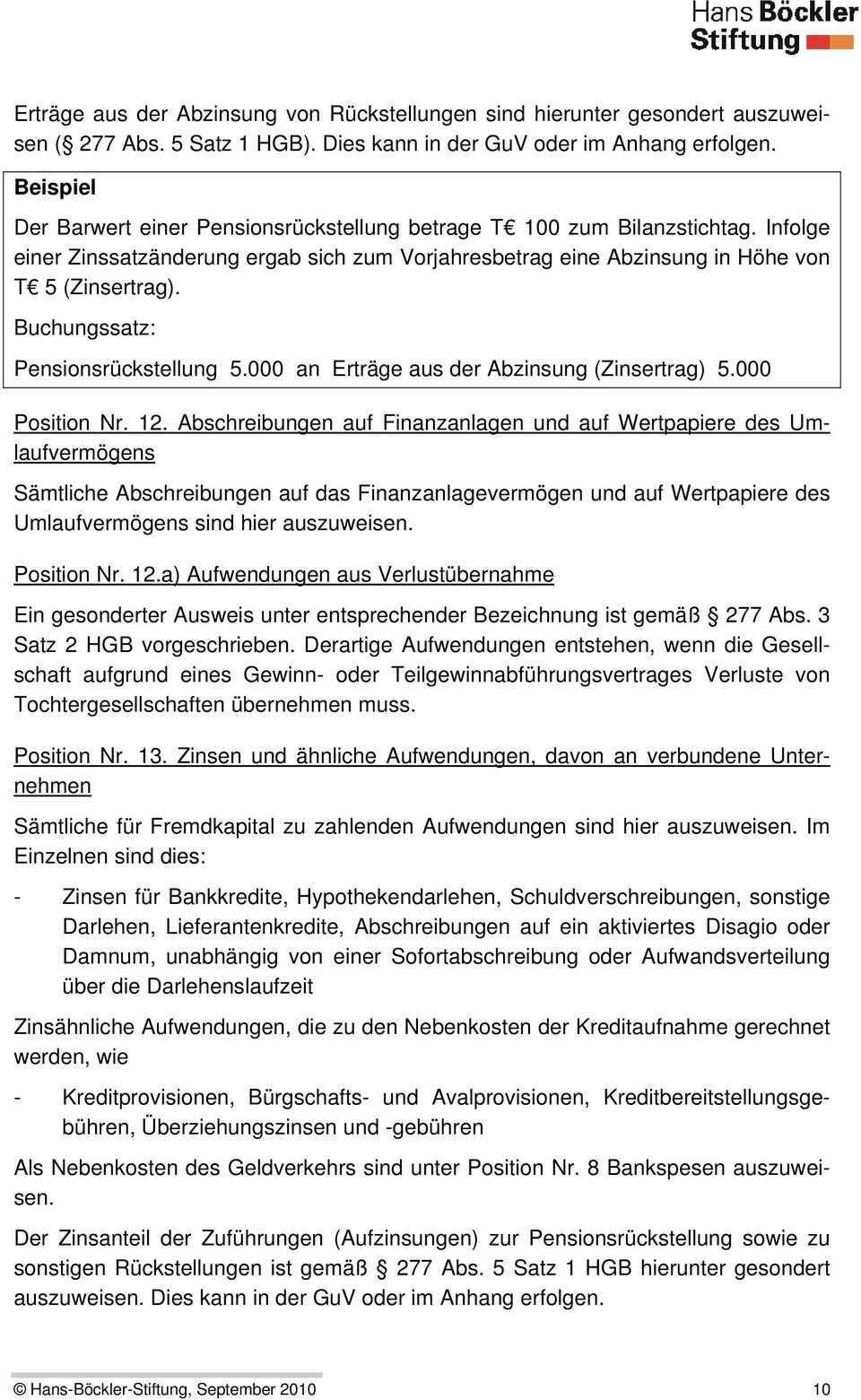 Rechnungslegung Nach Deutschem Handelsrecht Hgb Pdf Kostenfreier Download