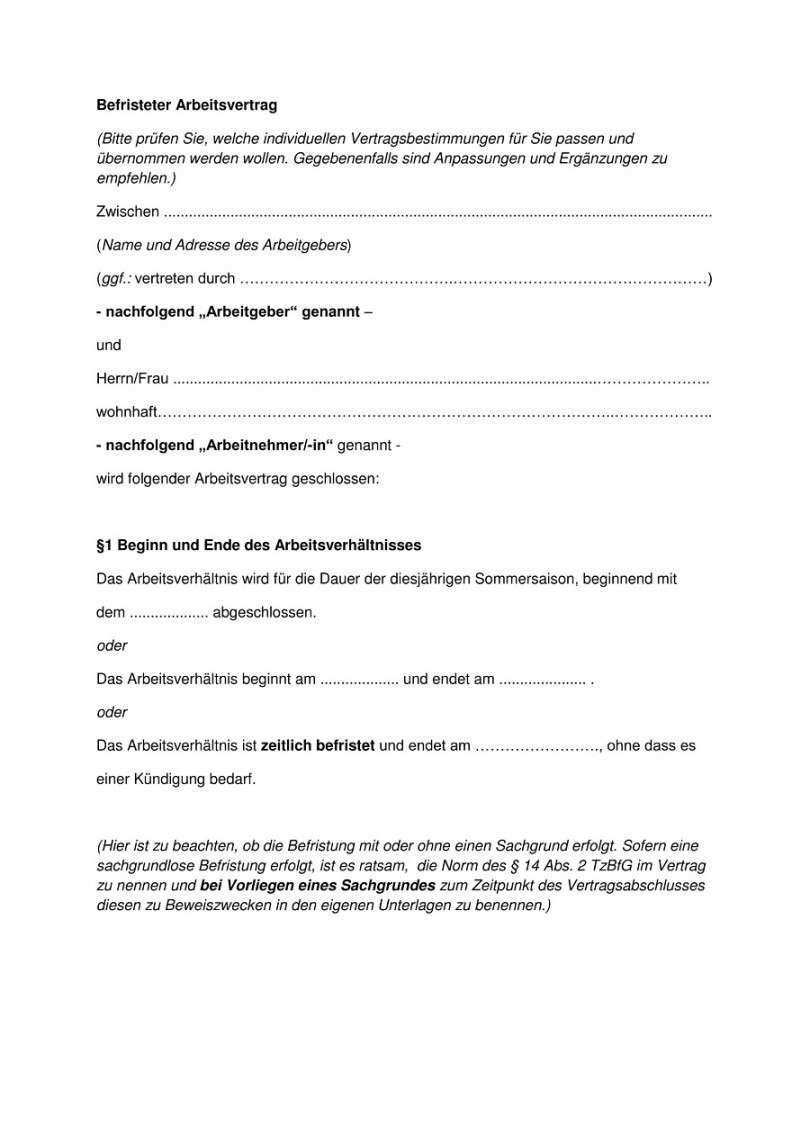 Vorlage Arbeitsvertrag Minijob Vorlagen Lebenslauf Lebenslauf Vorlagen