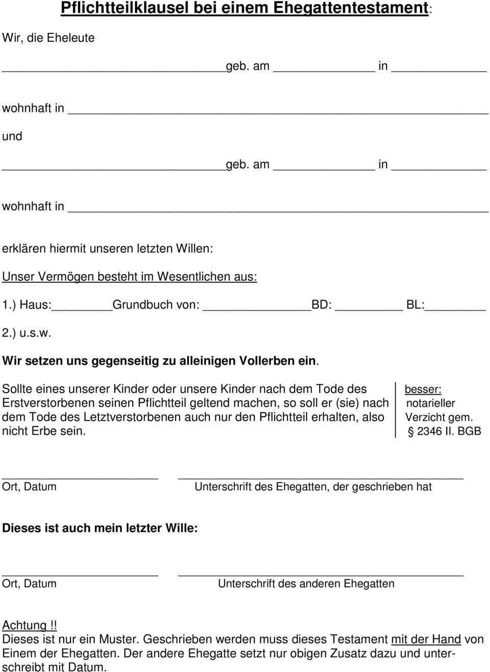 Monika Dittmer Tanneck Rendsburg Tel Fax 04331 Erben Und Vererben Pdf Free Download