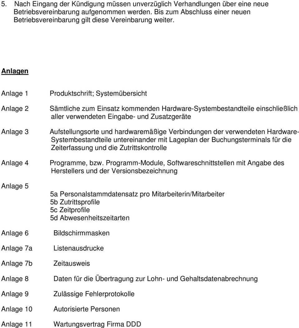Muster Betriebsvereinbarung Zutritts Und Zeiterfassungssystem Pdf Free Download
