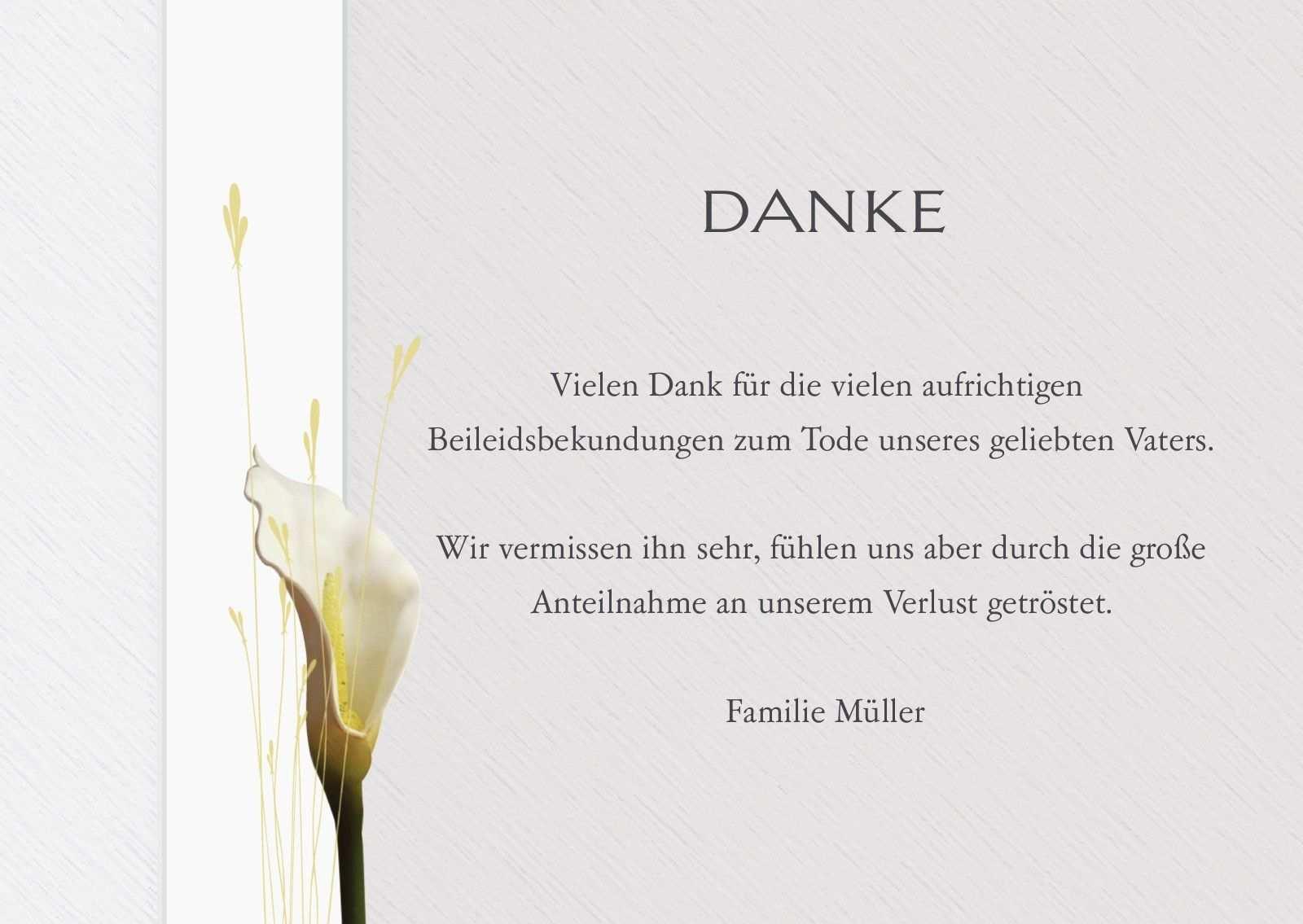 Trauer Dankeskarten Optimalprint Danksagungen Trauer Dankeskarten Trauer Danksagung Trauerfall