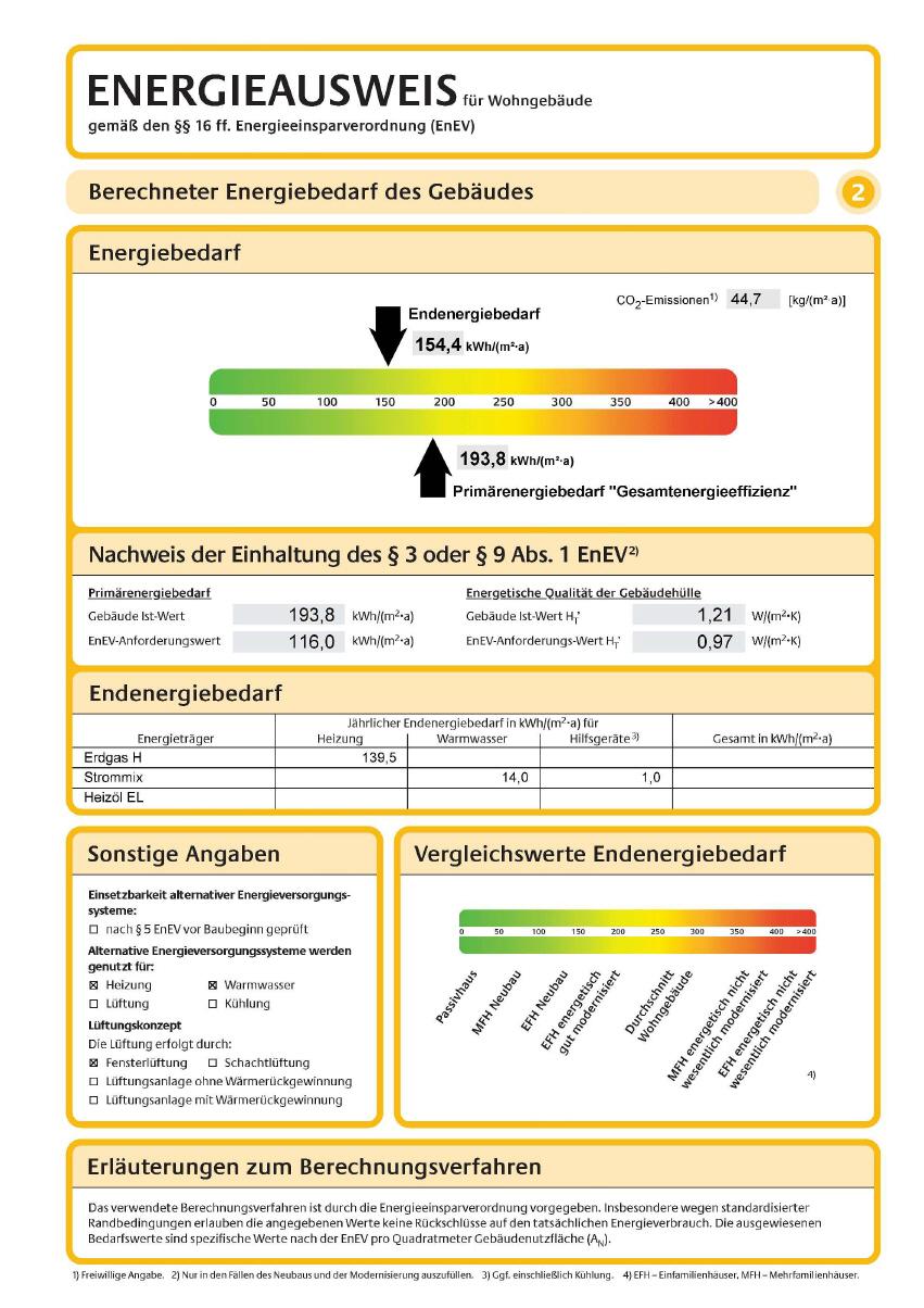 Energieausweis Ingenieurburo Fur Energieeffizienz