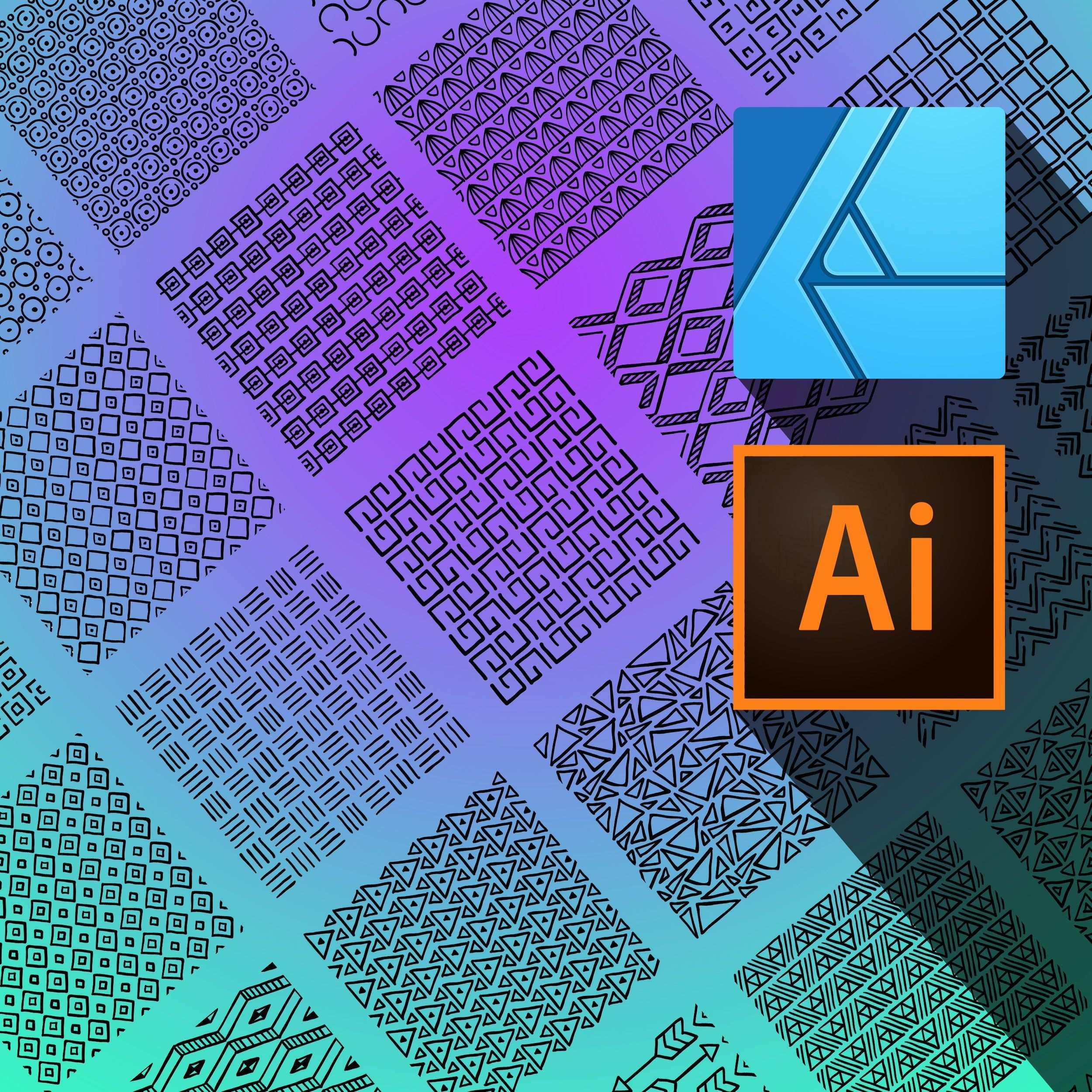 Ornamente Vektor Muster Fur Adobe Illustrator Und Affinity Designer Adobe Illustrator Vektor Muster Illustrator