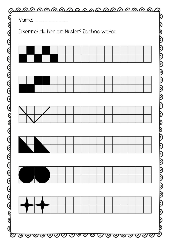 Muster Erkennen Und Fortsetzen Unterrichtsmaterial Im Fach Mathematik Unterrichtsmaterial Experiment Grundschule Englischunterricht