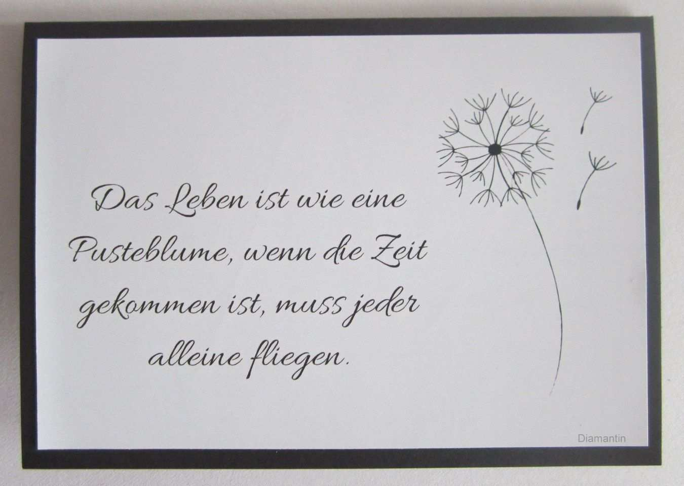Diamantin S Hobbywelt Trauerkarten Spruche Trauer Beileid Spruche Trauer Texte
