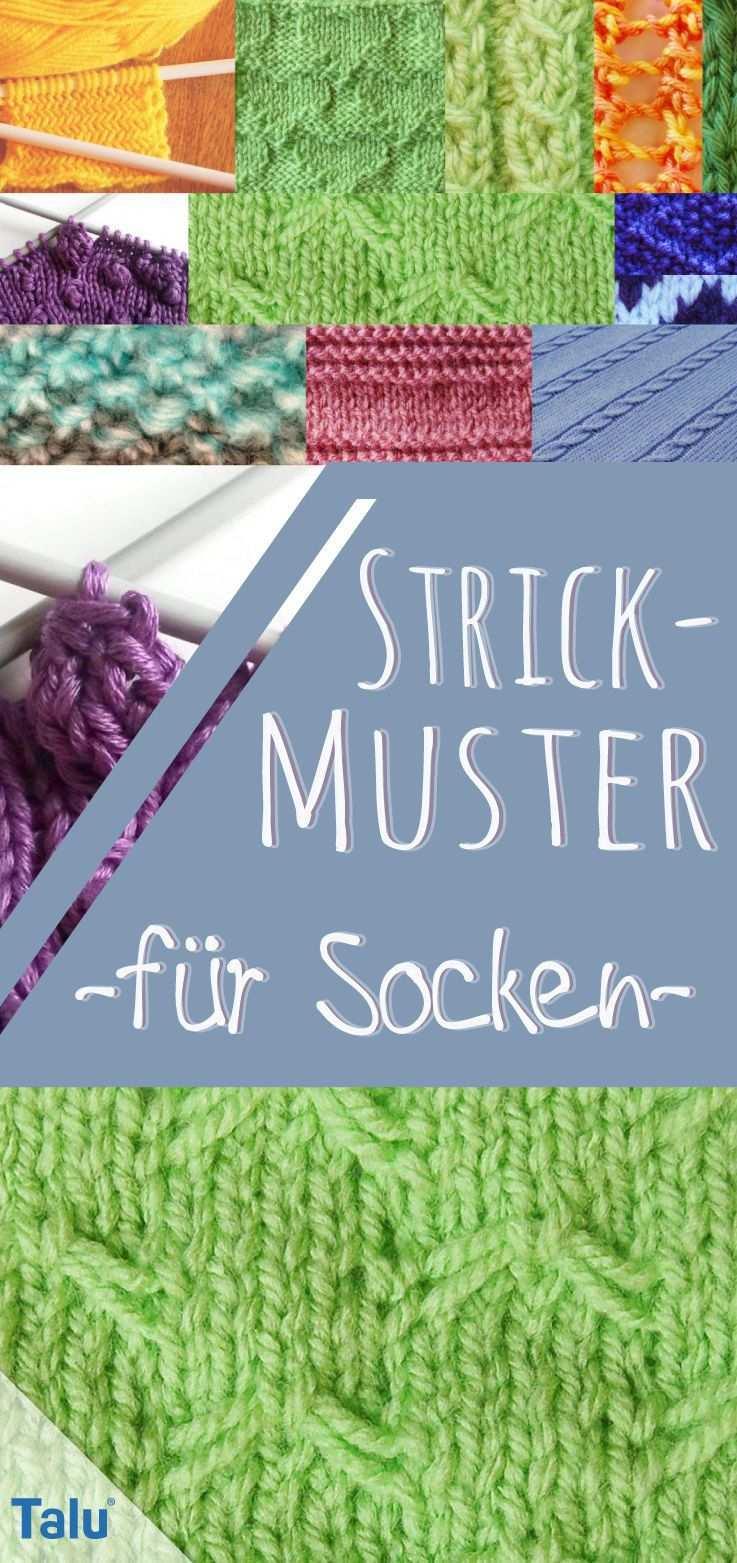 Strickmuster Fur Socken 10 Kostenlose Muster Talu De Strickmuster Socken Stricken Muster Muster Stricken